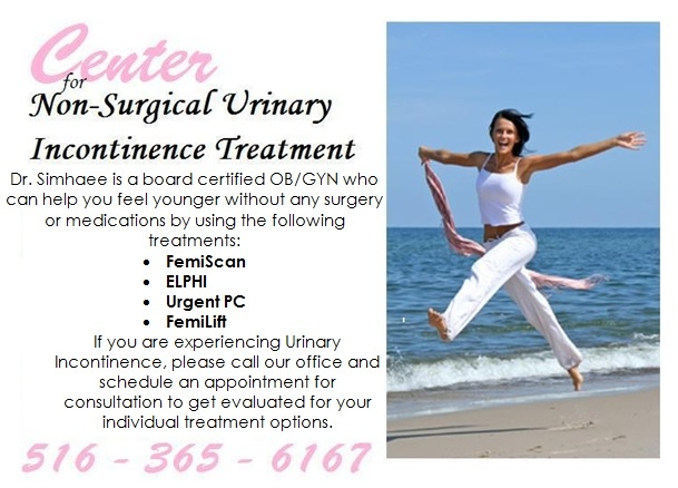 Adult incontinence treatment